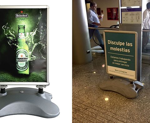 Soporte Heineken