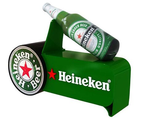 Mueble publicitario Heineken